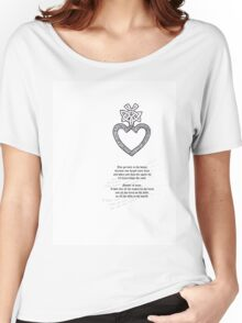 Tattoo Comp |  Mothers Heart Women's Relaxed Fit T-Shirt