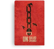 Unsullied Unchained Canvas Print