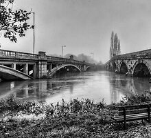 Attingham Bridges, Shropshire by CarlH2013