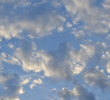 Blue Sky and Clouds by JMG1883
