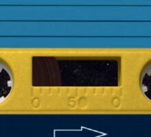 Yello Cassette Sticker