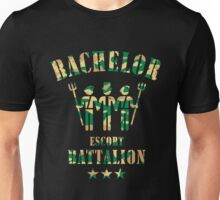 Bachelor Escort Battalion (Stag Party / Camouflage) Unisex T-Shirt