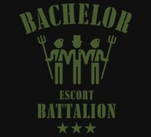 Bachelor Escort Battalion (Stag Party / Olive) by MrFaulbaum