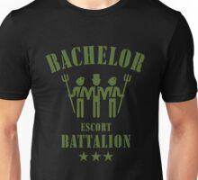 Bachelor Escort Battalion (Stag Party / Olive) Unisex T-Shirt
