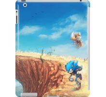 Sonic the Hedgehog Fan Art - Boom Sonic & Tails iPad Case/Skin