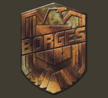 Custom Dredd Badge Pocket Shirt - (Borges) by CallsignShirts
