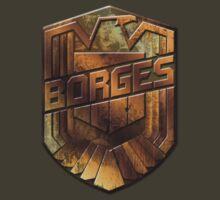 Custom Dredd Badge Pocket Shirt - (Borges) by CallsignShirts