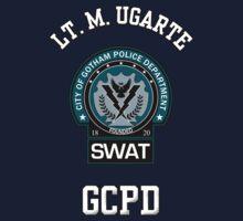 Custom Gotham Police - SWAT - Lt M. Ugarte by CallsignShirts