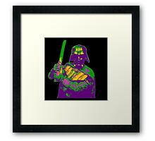 The Colourful Sith Lord Framed Print