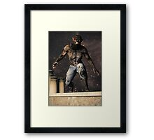 The Curse of Lycanthropy Framed Print