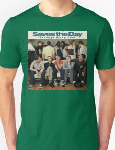Saves the Day - Through Being Cool Unisex T-Shirt