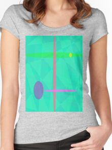 Nirvana Green Women's Fitted Scoop T-Shirt