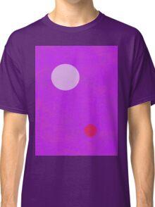 Minimalism Electric Purple Classic T-Shirt