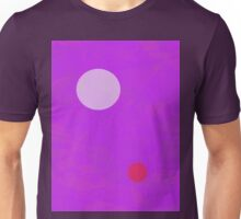 Minimalism Electric Purple Unisex T-Shirt