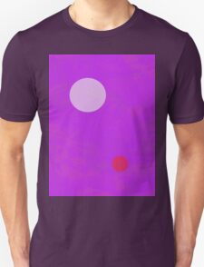 Minimalism Electric Purple T-Shirt