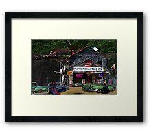 Bay Mercantile Company Framed Print