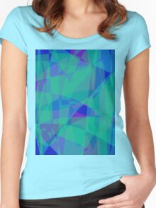 South Pacific Ocean Women's Fitted Scoop T-Shirt