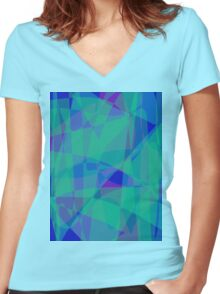 South Pacific Ocean Women's Fitted V-Neck T-Shirt