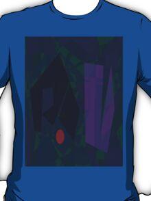 Waiting for the Dark Night Horizontal T-Shirt