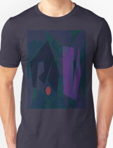 Waiting for the Dark Night Horizontal T-Shirt