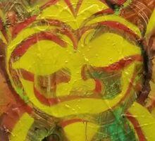Turtle sunshine Sticker