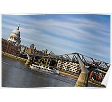 River Thames Uphill Poster