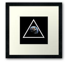 Earth. Framed Print