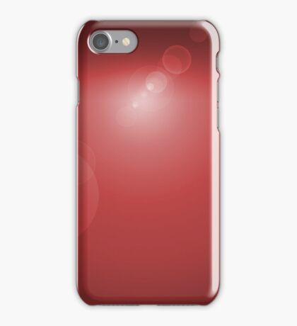 Lens Flare Red iPhone Case/Skin