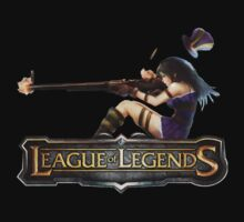 League of Legends - Cait (Old Logo) by falcon333