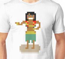 Hula Girl Pixel Art Unisex T-Shirt