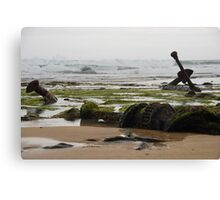 Wreck Beach Canvas Print