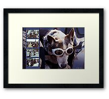 Just call me Dog Framed Print