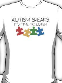 AUTISM: Be aware T-Shirt