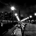 San Francisco, CA - Pier 7 Nightscape by Mike Oliver