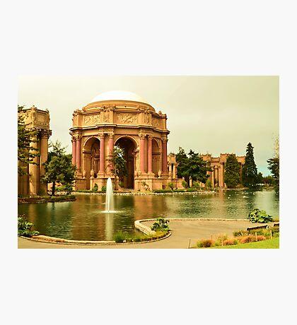 San Francisco, CA - Palace of Fine Arts Photographic Print