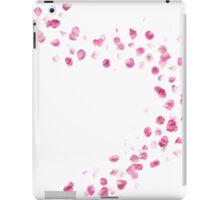 Pink Rose Petals Breeze iPad Case/Skin