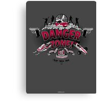 Danger Zone! Canvas Print