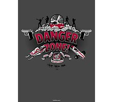 Danger Zone! Photographic Print