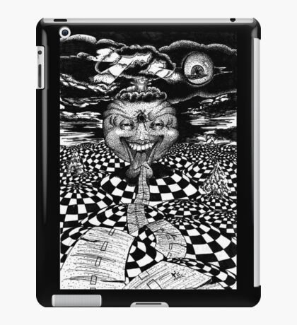 End of the Road in Pen iPad Case/Skin