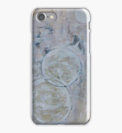 Study in White iPhone Case/Skin