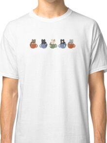 Cats in Cups Classic T-Shirt