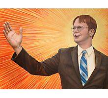 Inspirational Dwight Photographic Print
