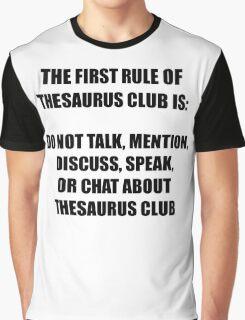 Thesaurus Club Graphic T-Shirt
