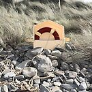 lifebuoy buried in the rocks by morrbyte