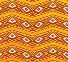 Ethnic Tribal Africa Texture Design Pattern Sticker