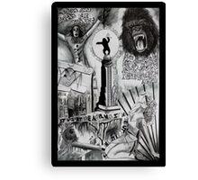 King Kong Dada Doll Canvas Print