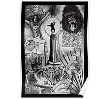 King Kong Dada Doll Poster