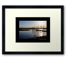Porpoise Channel Afternoon - Stony Brook, New York Framed Print