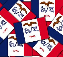 Smartphone Case - State Flag of Iowa - Multiple by Mark Podger