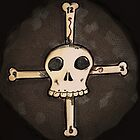 Skull & Bones Clock by BenVess